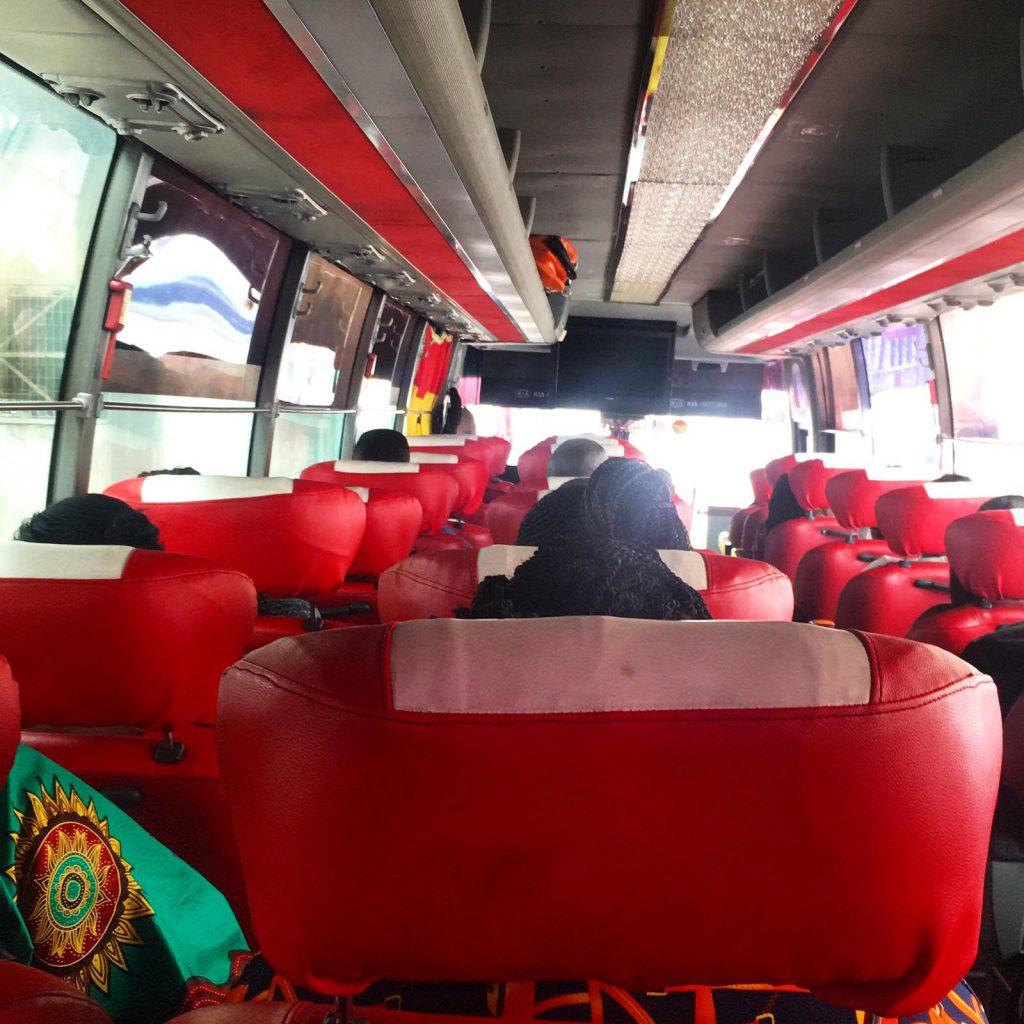 Bus in Ghana