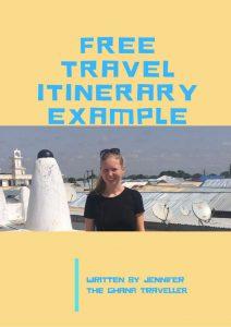 Travel itinerary Accra to Cape Coast