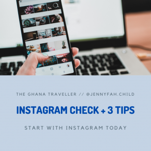 Instagram check and 3 tips