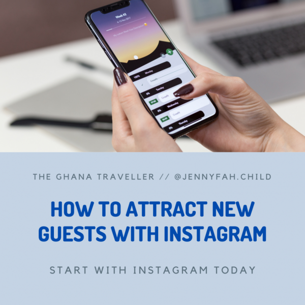Online program how to attract new guests