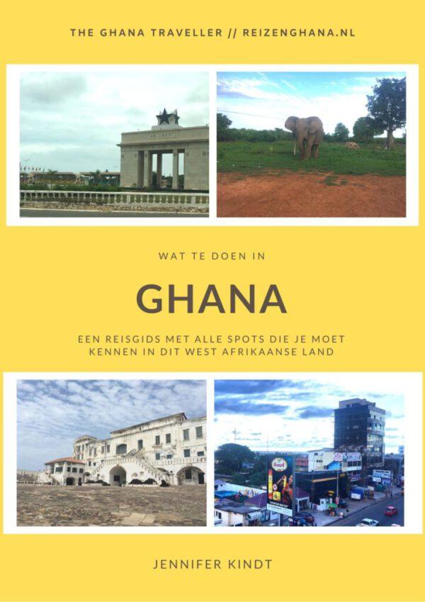 Wat te doen in Ghana reisgids ebook Nederlands